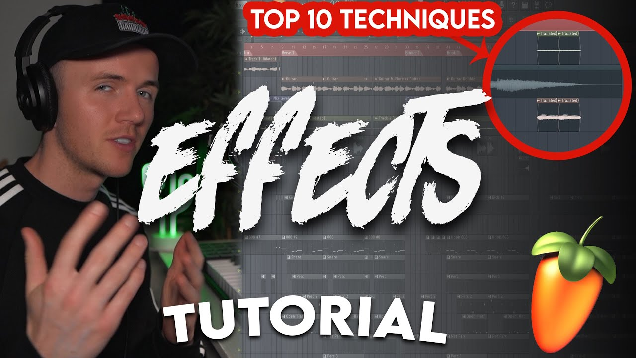 10 EFFECTS TO MAKE YOUR BEATS MORE INTERESTING - (FL Studio Effects Tutorial)