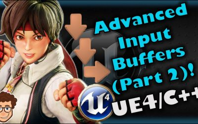 Do It Yourself – Tutorials – Advanced Input System (Part 2) | How To Make YOUR OWN Fighting Game! | UE4 and C++ Tutorial, Part 64