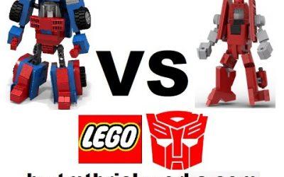Do It Yourself – Tutorials – BWTMT Brickworks Lego Transformers Minibot Deathmatch R2M4 GEARS Vs POWERGLIDE
