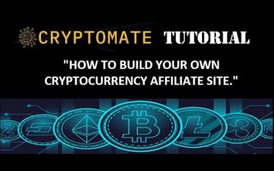Do It Yourself – Tutorials – CRYPTOMATE TUTORIAL – HOW TO BUILD YOUR OWN CRYPTOCURRENCY AFFILIATE SITE AND EARN MONEY.