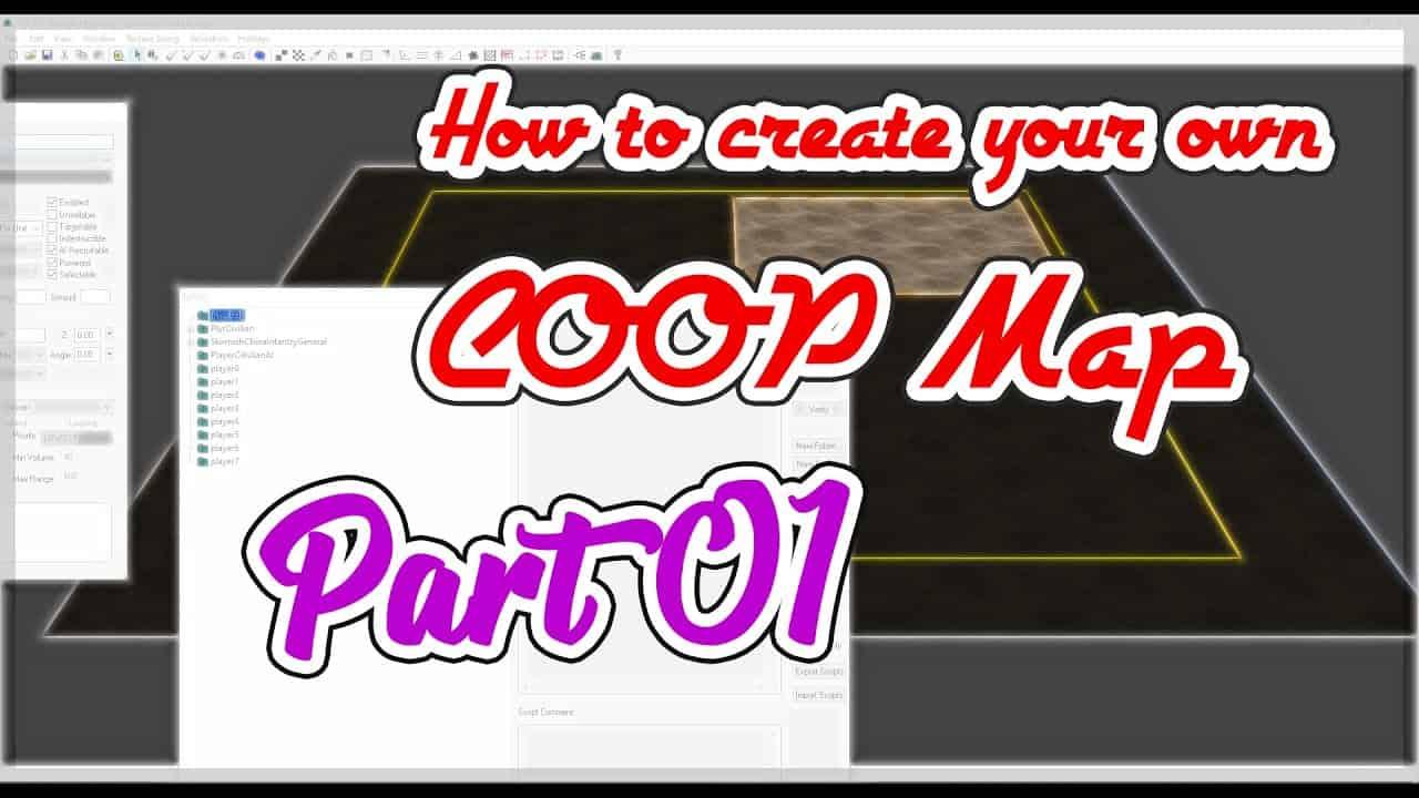 C&C Zero Hour - Tutorial make your own COOP Map -  Part 01 - Basic Preparation