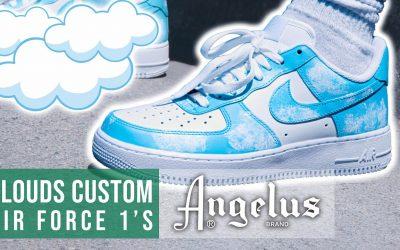 Do It Yourself – Tutorials – Clouds Customs Air Force 1's   Angelus Custom Shoe Tutorial
