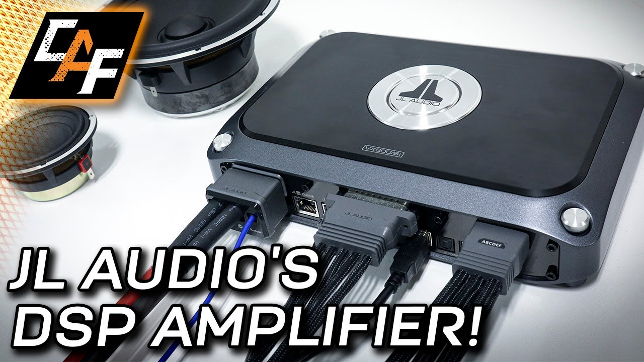 Computer Tuning? JL Audio's VXi Amplifier! VX600/6i Overview