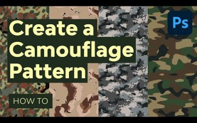Do It Yourself – Tutorials – Design Your Own Camouflage Pattern in Photoshop