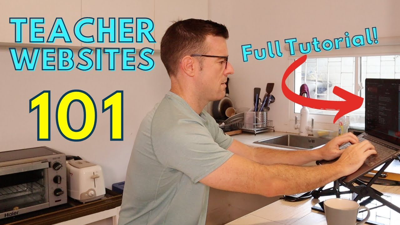Do THESE steps to create your Teacher Website in 2021 (+ FULL Tutorial & Walkthrough)