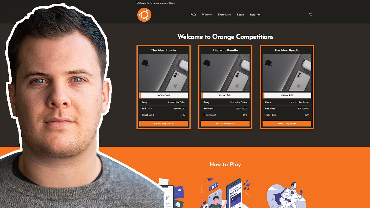 [Fast As Possible] Building a New Raffle / Competition Website using the DIY Raffle Template.