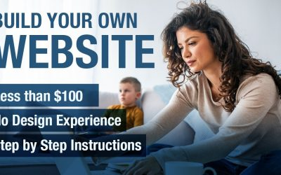 Do It Yourself – Tutorials – For Less Than $100 & With No Design Experience Build Your Own Website Using This Step by Step Video