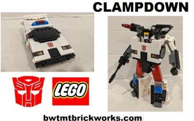 Do It Yourself – Tutorials – G1 Clampdown a Lego Transformer by BWTMT Brickworks