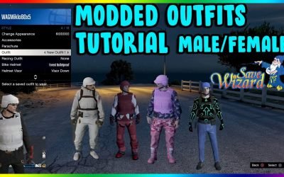 Do It Yourself – Tutorials – GTA 5 How to Make Your Own Modded Outfits (Save Wizard Step by Step Tutorial) Male/Female