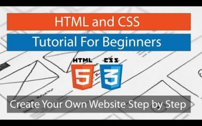 Do It Yourself – Tutorials – HTML and CSS Tutorial For Beginners: Create Your Own Website Step by Step