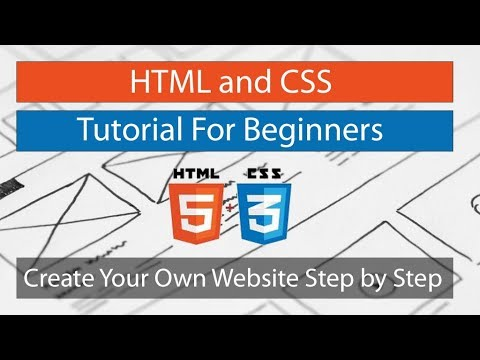 HTML and CSS Tutorial For Beginners: Create Your Own Website Step by Step