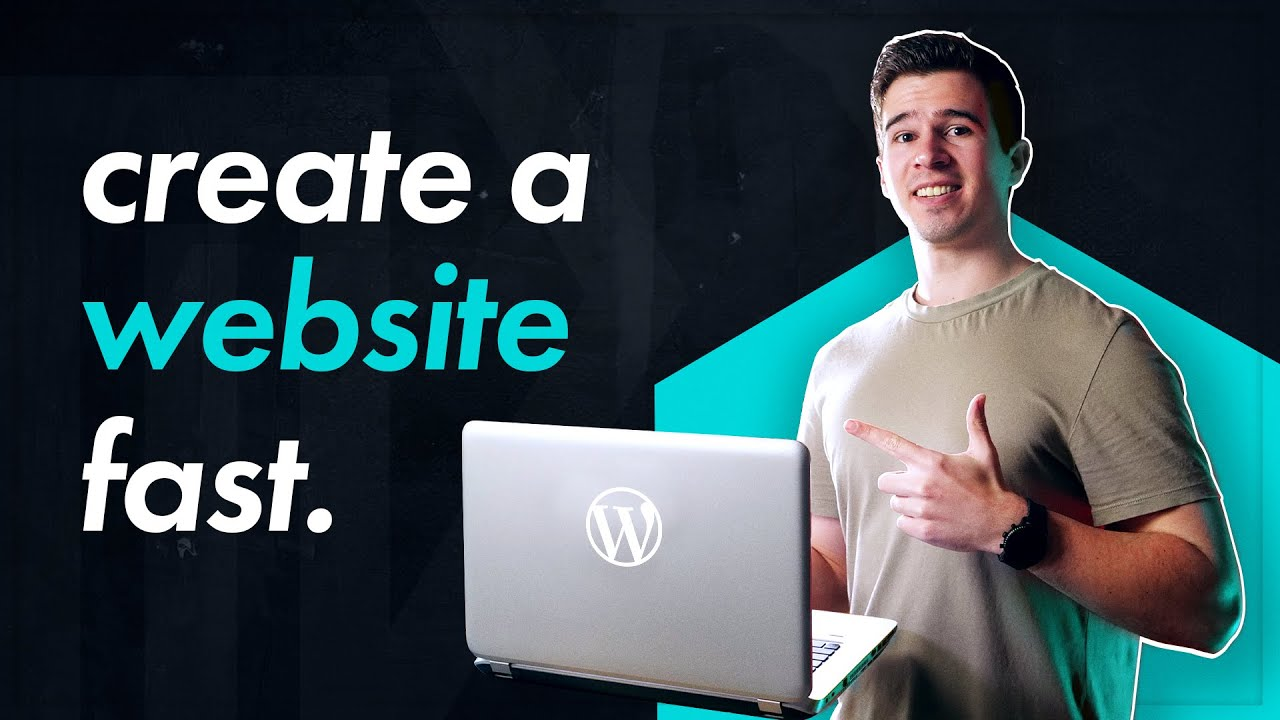 How to CREATE A WEBSITE in 10 Minutes // Beginners Wordpress Tutorial 2021