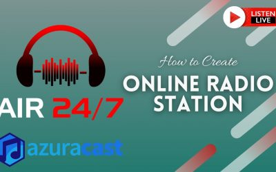 Do It Yourself – Tutorials – How to Create Online Radio Stations Free with Azuracast Web Radio Broadcasting Software | Part 1