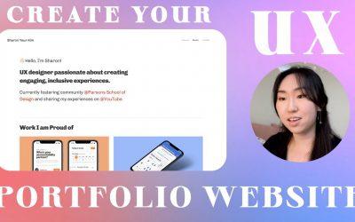 Do It Yourself – Tutorials – How to Create your UX Design Portfolio Website with Squarespace! TUTORIAL