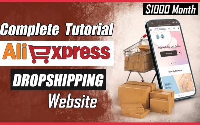 Do It Yourself – Tutorials – How to Make AliExpress Dropshipping Website Complete Tutorial 2021