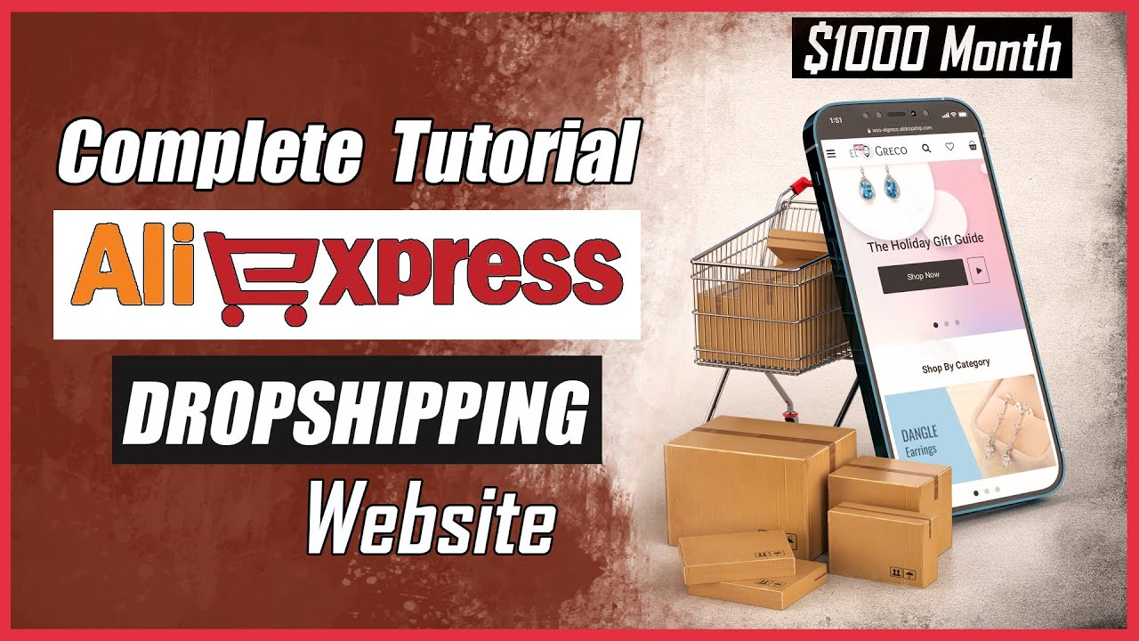 How to Make AliExpress Dropshipping Website Complete Tutorial 2021