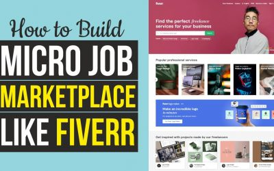 Do It Yourself – Tutorials – How to Make Freelancer & Micro Job Marketplace Website Like Fiverr, Freelancer & Upwork – WordPress