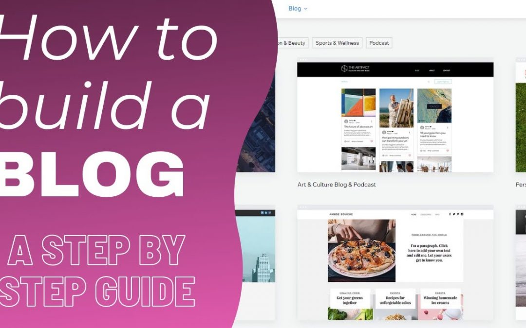 Do It Yourself – Tutorials – How to Start a Blog- Complete Tutorial for Beginners – Create an AMAZING BLOG from Scratch!