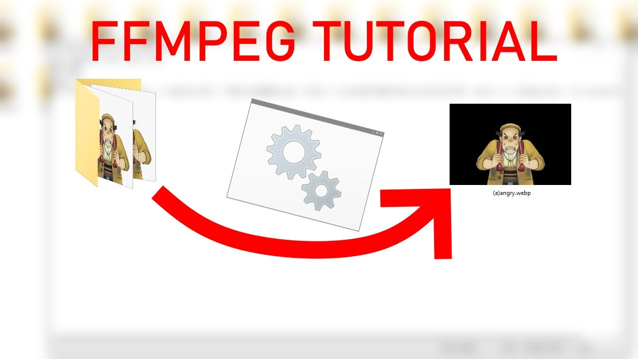 How to customize your own FFMPEG script to make WEBP out of PNG Sequences
