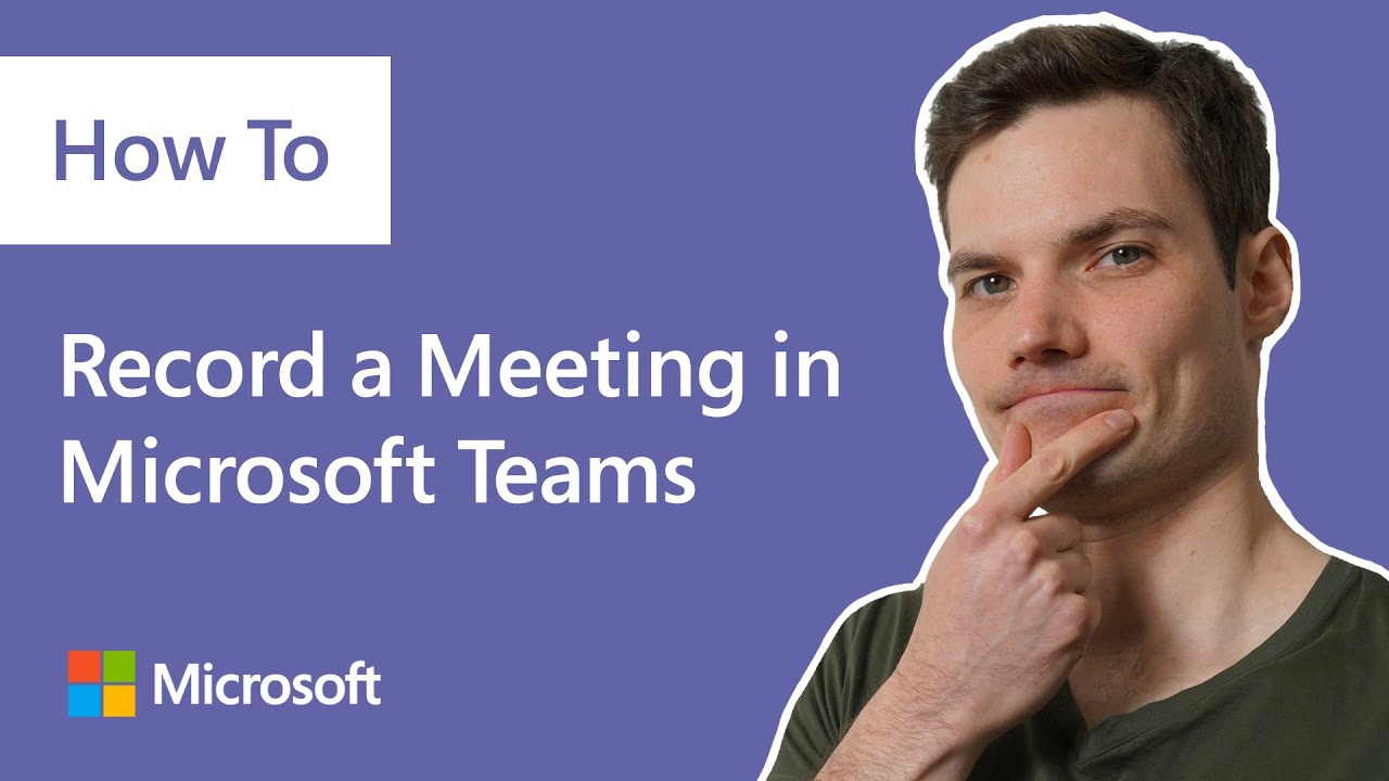 How to record a meeting in Microsoft Teams, demo tutorial