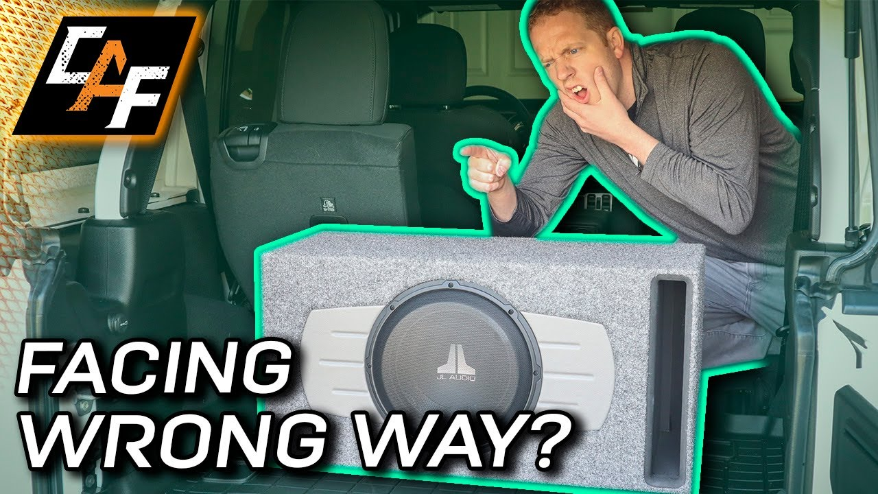 Is YOUR SUBWOOFER facing the WRONG way? How we locate sounds explained!