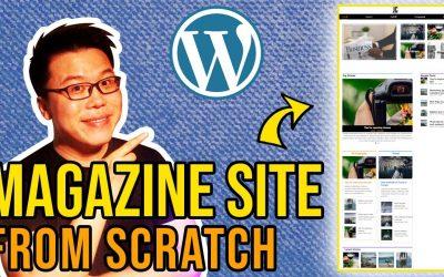 Do It Yourself – Tutorials – Kadence Theme Tutorial: Create a WordPress Magazine Website from Scratch
