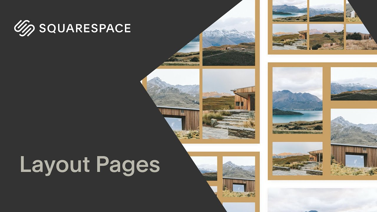 Layout Pages Tutorial | Squarespace 7.1
