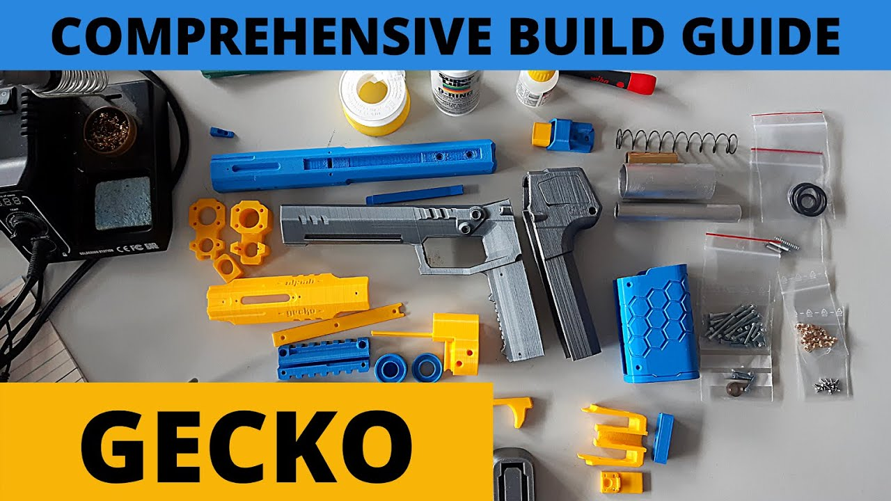 Let's build a GECKO blaster! ~ MOST COMPREHENSIVE Build Guide/ Tutorial incl. Tips by Rainbow