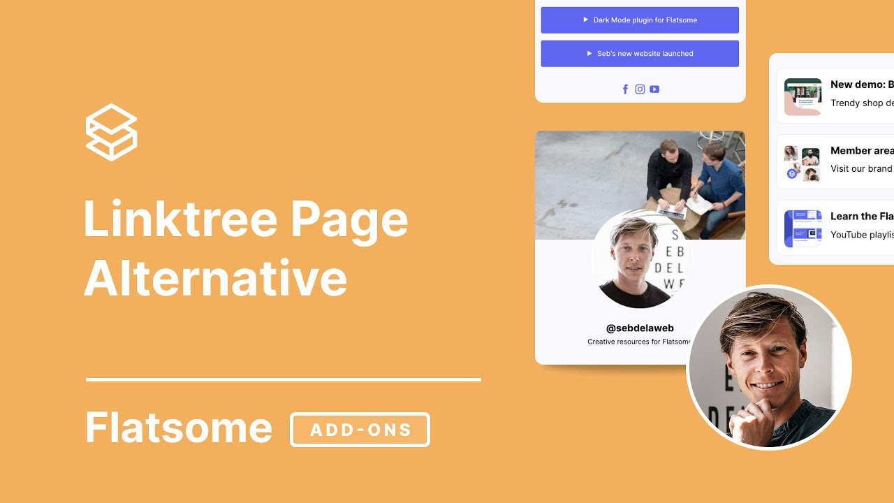 Linktree Alternative for Flatsome Theme Tutorial