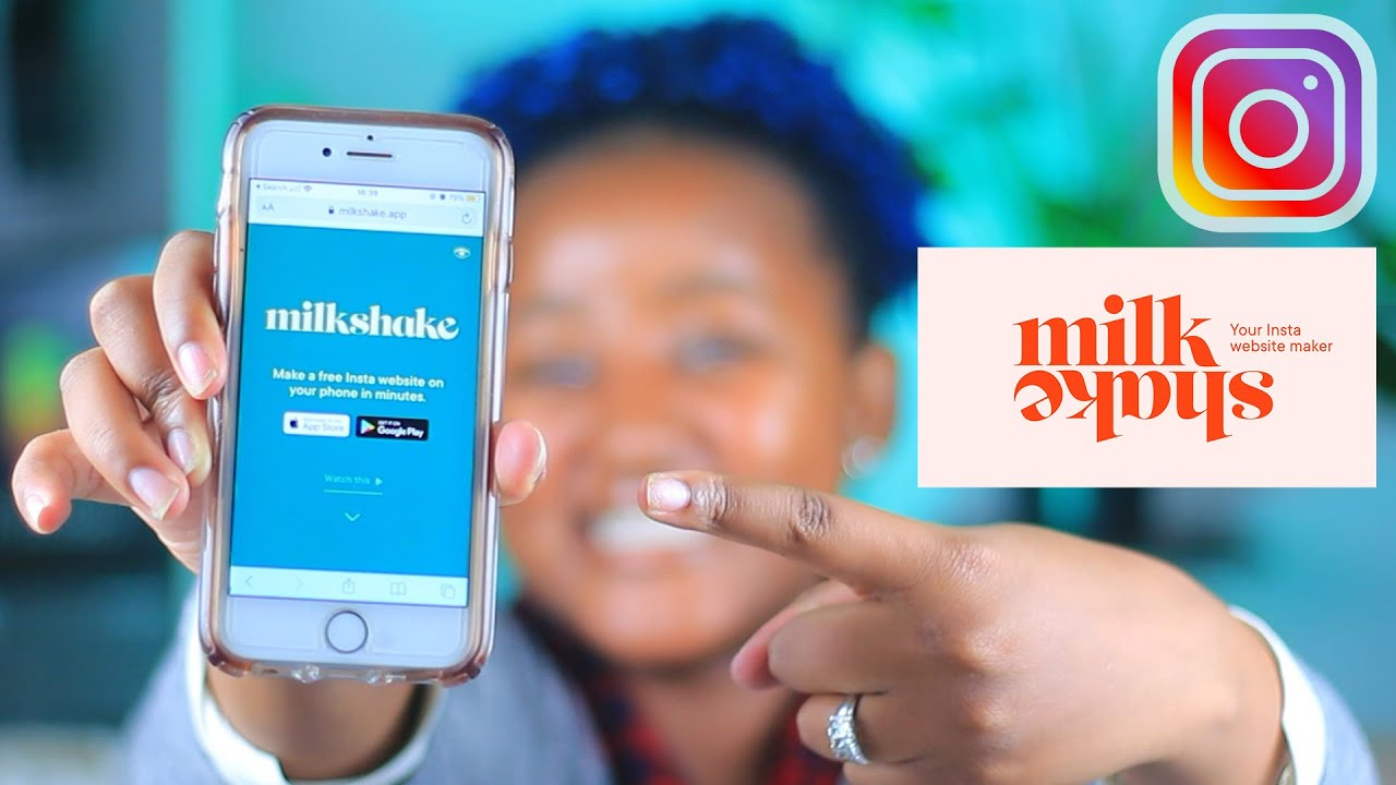 Milkshake website builder tutorial | Free Linktree Alternative