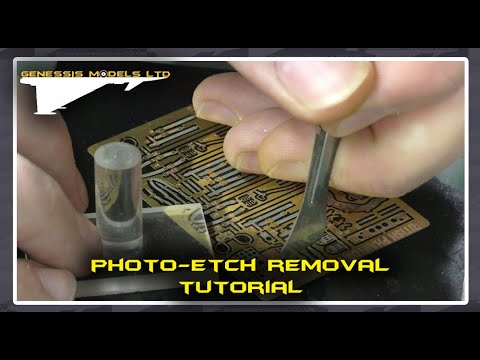 Photo Etch Removal : Tutorial