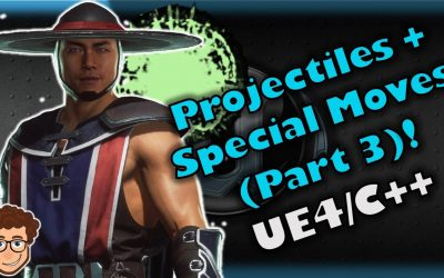 Do It Yourself – Tutorials – Projectiles + Special Moves #3 | How To Make YOUR OWN Fighting Game! | UE4 and C++ Tutorial, Part 62
