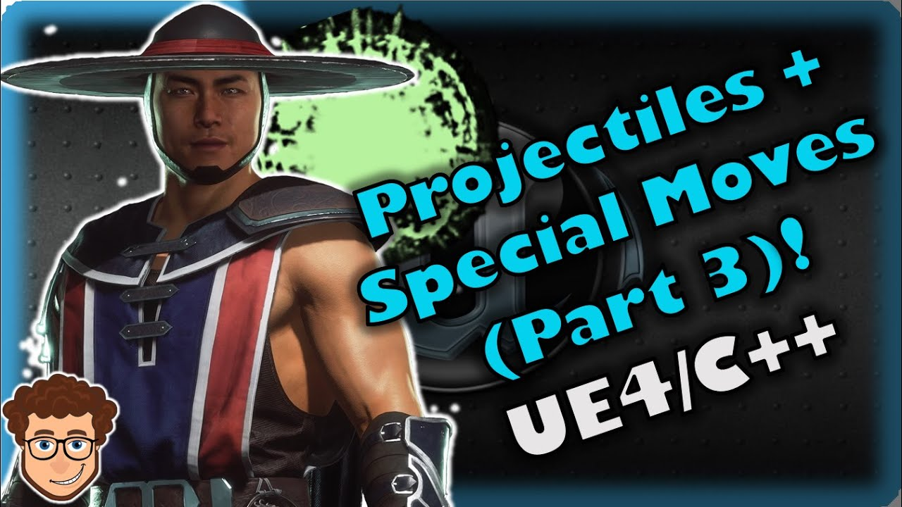 Projectiles + Special Moves #3 | How To Make YOUR OWN Fighting Game! | UE4 and C++ Tutorial, Part 62