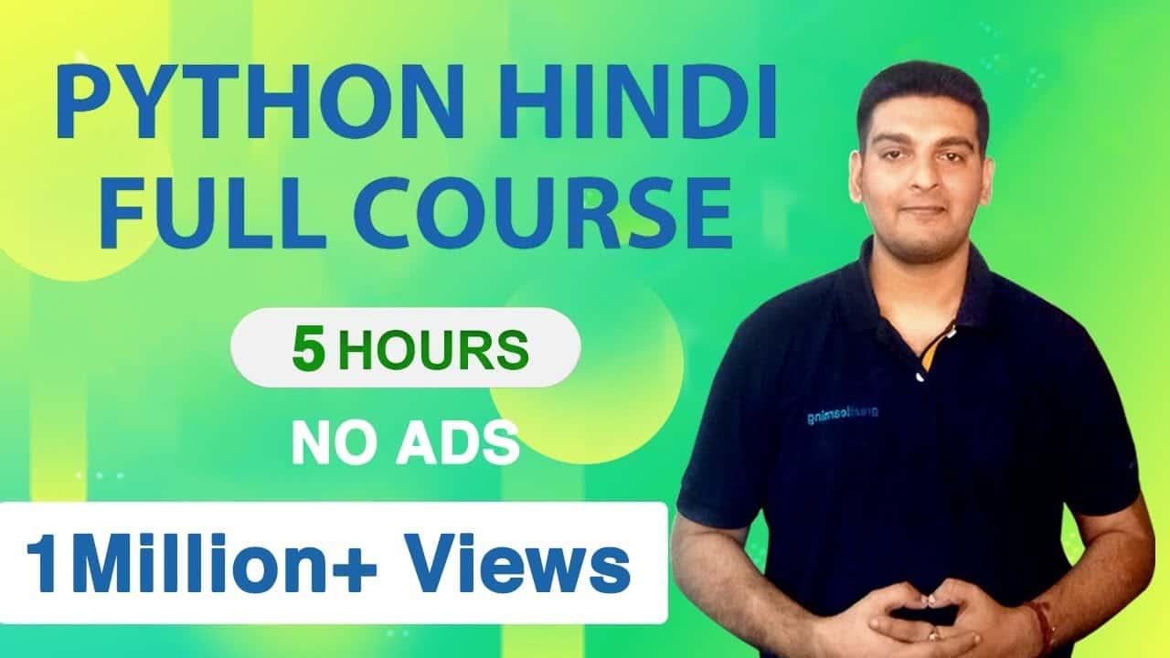 Python Tutorial in Hindi | Learn Python in Hindi | Python Full Course in Hindi | Python Tutorial