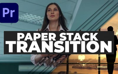 Do It Yourself – Tutorials – Smooth Paper Stack Transition – Premiere Pro tutorial