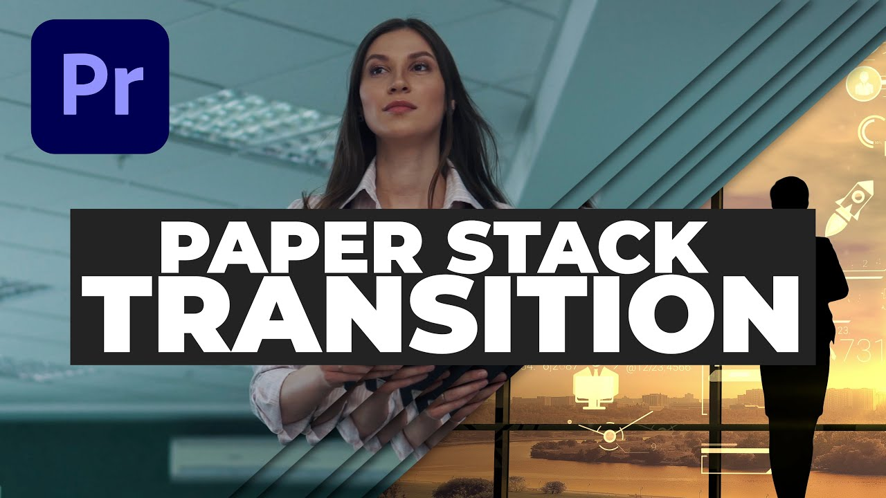 Smooth Paper Stack Transition - Premiere Pro tutorial