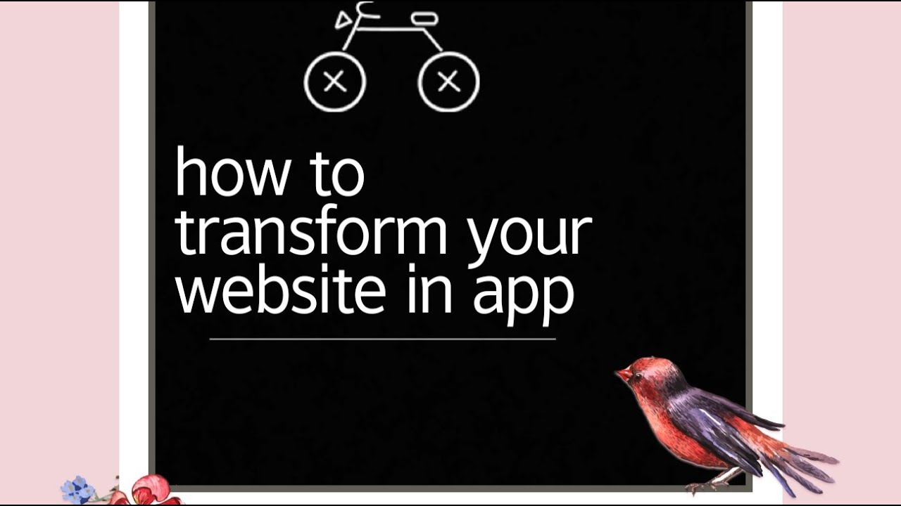 Tutorial-4 | how to transform your own website in app | mit app inventor