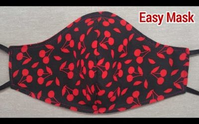 Do It Yourself – Tutorials – Very Easy 2 in 1 New Design Breathable Mask   Face Mask Sewing Tutorial   Make your own Mask Today