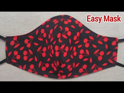 Very Easy 2 in 1 New Design Breathable Mask | Face Mask Sewing Tutorial | Make your own Mask Today