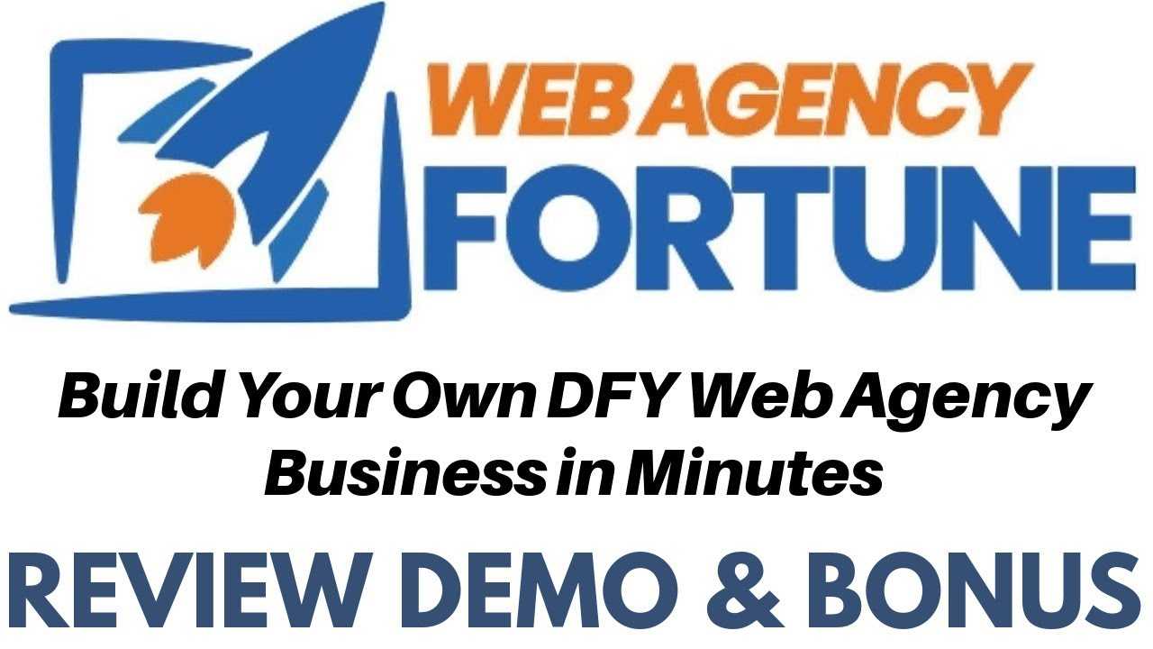Web Agency Fortune Digital Marketing Review - Your Own Professional Marketing Agency Websites Fast