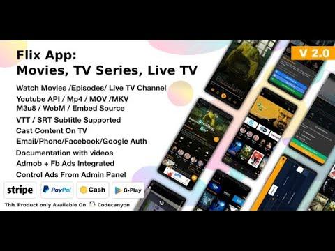 Webflix / Flix Tv Both Web/Android Installation Tutorial Make Your Own Free OTT Platform