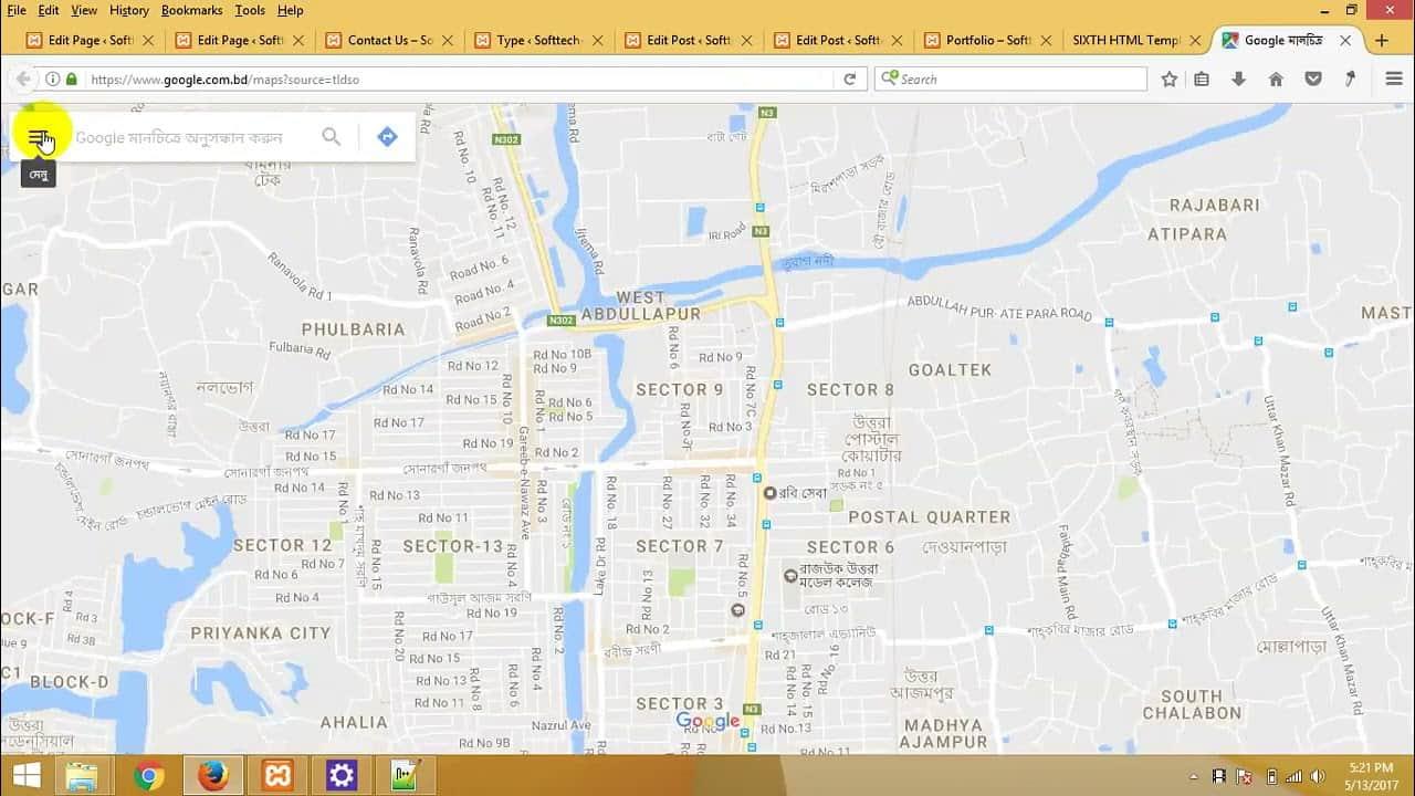 85   WordPress theme development bangla tutorial part 85