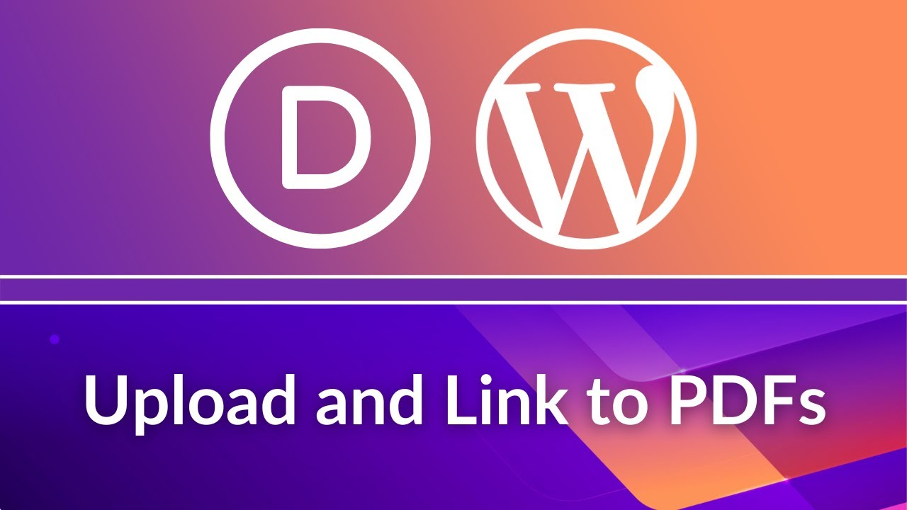Divi Theme Tutorial: How to add PDF in a WordPress Website