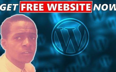 WordPress For Beginners – FREE website Domain and Hosting 2021 #shorts