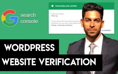 WordPress For Beginners – Google Search Console WordPress Site Verification