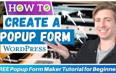 WordPress For Beginners – How To Create A Popup Form In WordPress For FREE | Popup Maker Tutorial for Beginners