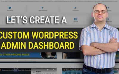 WordPress For Beginners – How to Create Custom WordPress Admin Dashboard for Your Clients?