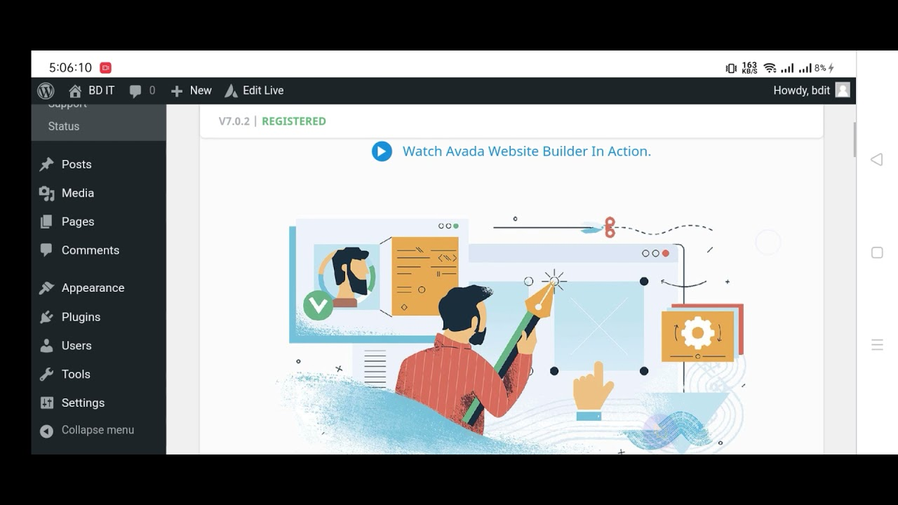 How to Import Avada Theme Demo || Install Avada with Free Licence key, Avada theme on free hosting.