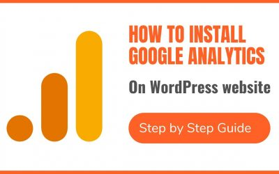 WordPress For Beginners – How to Install Google Analytics GA4 – Step by Step Tutorial in Hindi & English