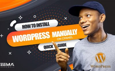 WordPress For Beginners – How to install wordpress manually in cPanel